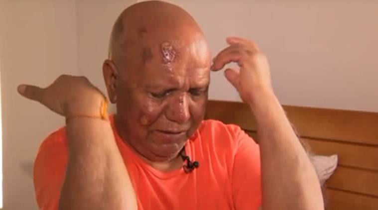 Hindu priest attacked near temple in US