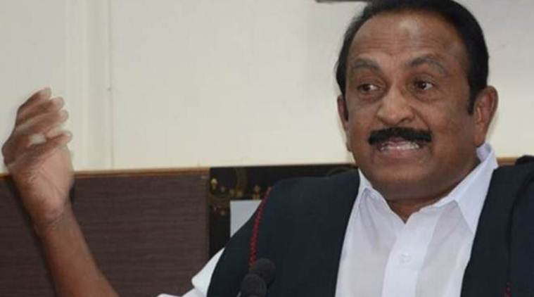 vaiko, vaiko conviction, vaiko case, vaiko conviction case, mdmk, mdmk party, mdmk chief vaiko, mdmk leader vaiko, rajya sabha, parliament session, india news, Indian Express