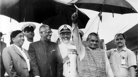 atal bihari vajpayee, jaswant singh, george fernandes, 9/11 us war, sushil kumar book, a prime minister to remember, indian express