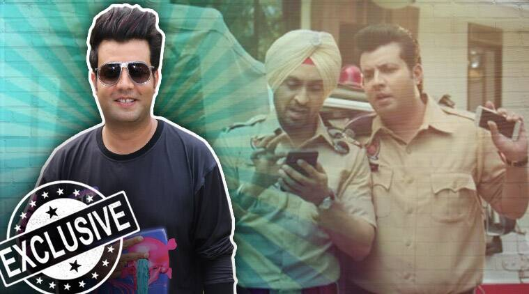 varun sharma with diljit dosanjh in arjun patiala