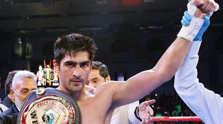 Vijender Singh, Technical Knockout, Mike Snider, vijender vs mike snider, sports news, vijender news, indian express