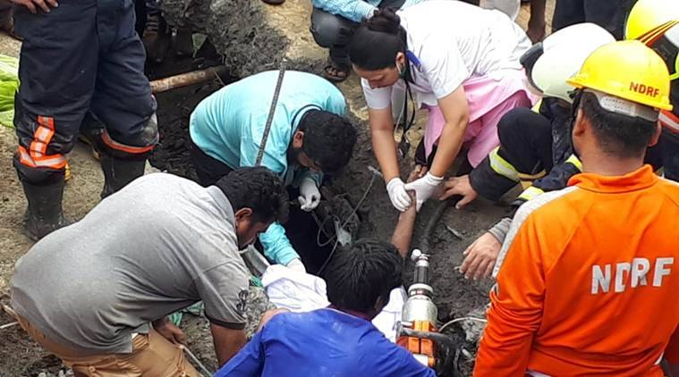 Mumbai wall collapse: Rescuers cling to hope for 14 hours but cannot save girl