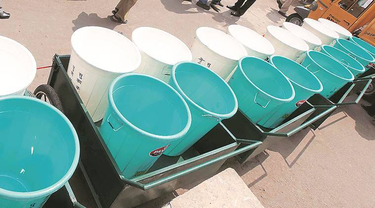 Pune: Free distribution of buckets for garbage collection to continue despite admin objection