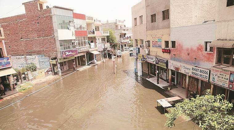 Chandigarh: Water enters houses in Sector 19, Panchkula