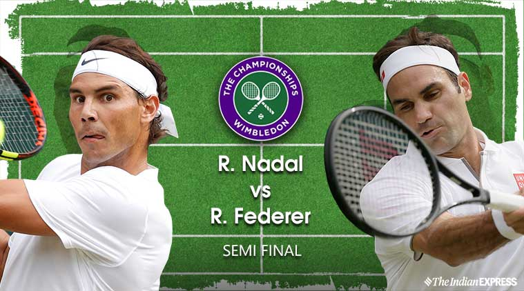Image result for wimbledon federer vs nadal