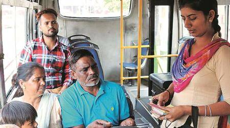 Chandigarh Administration, city buses, lay-bys system, Chandigarh news, indian express news