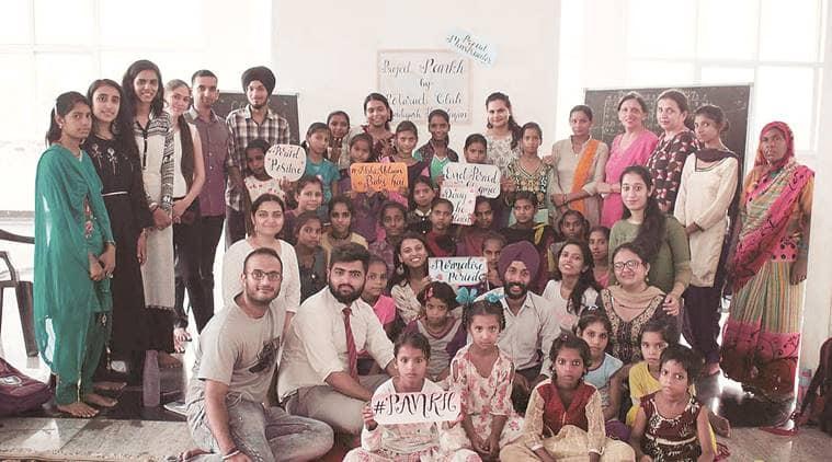 chandigarh, panchkula, workshop in panchkula, menstrual hygiene, menstrual hygiene workshop, menstrual hygiene workshop in panchkula, chandigarh news, indian express news