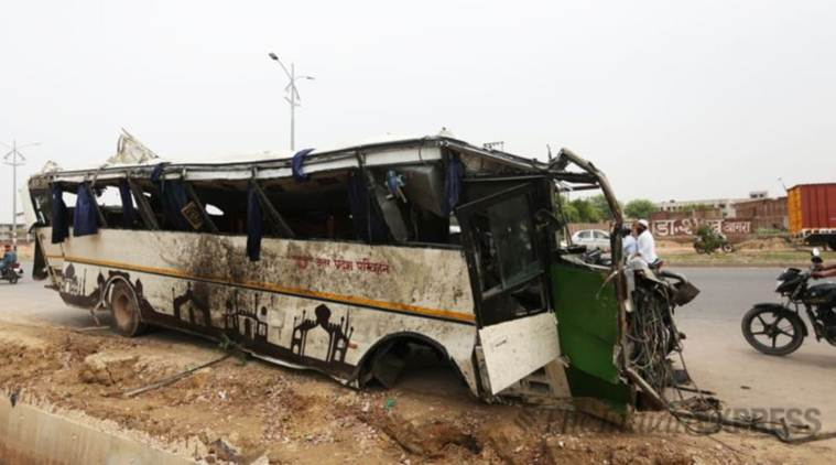 Yamuna Expressway bus accident: 'Screams didn't stop till we