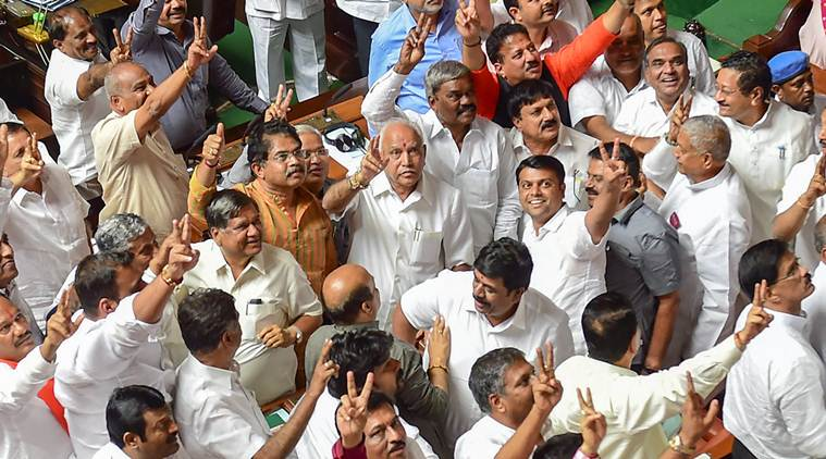 BJP says natural claimant to power, BSY plans return to chair lost 14 months ago