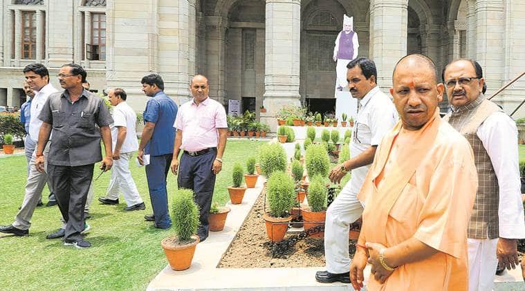 UP government, caste certificates, sc, obc, sc list debate, up caste certificates, mayawati, yogi adityanath, uttar pradesh, caste politics, indian express