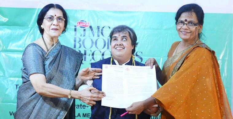 Limca Book of Records, Yogita ARun Tambe, visually impaired musician, indian express, indian express news