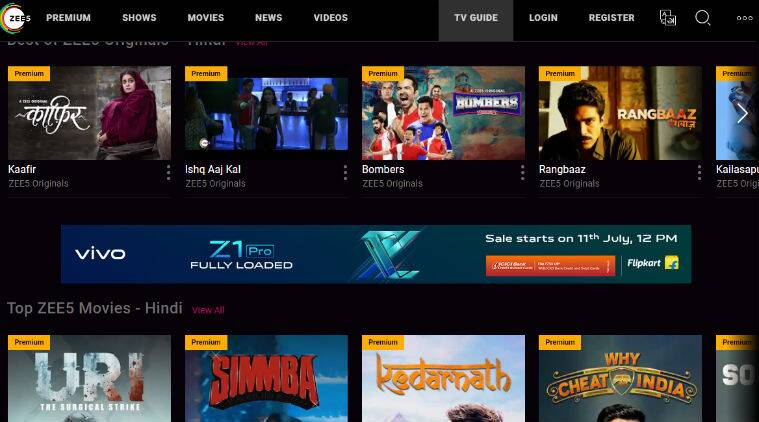 Zee5 Premium Accounts Free