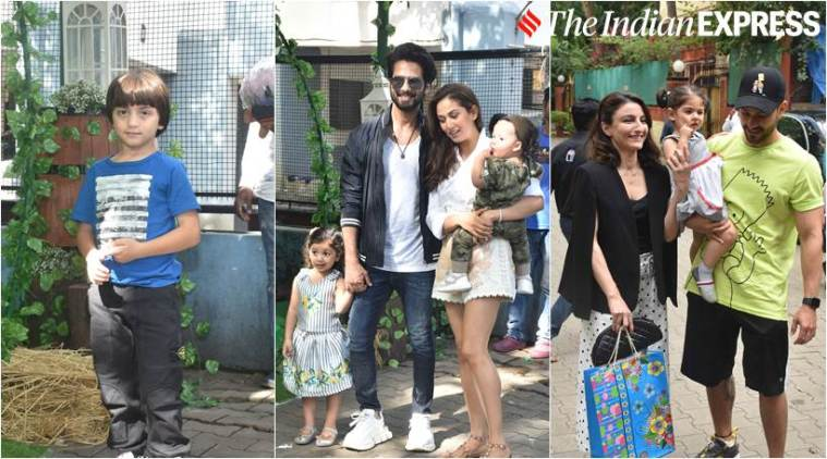 shahid kapoor daughter birthday party