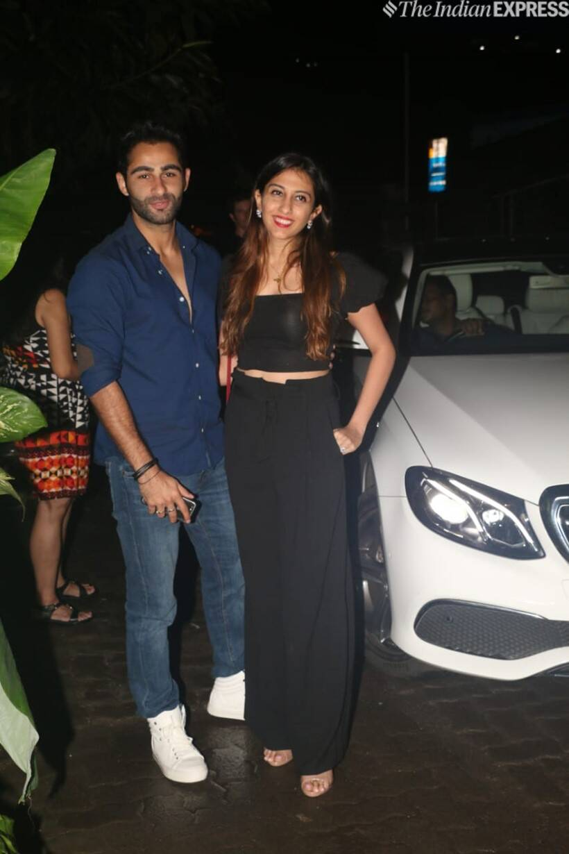 armaan jain and anissa malhotra at kiara advani birthday