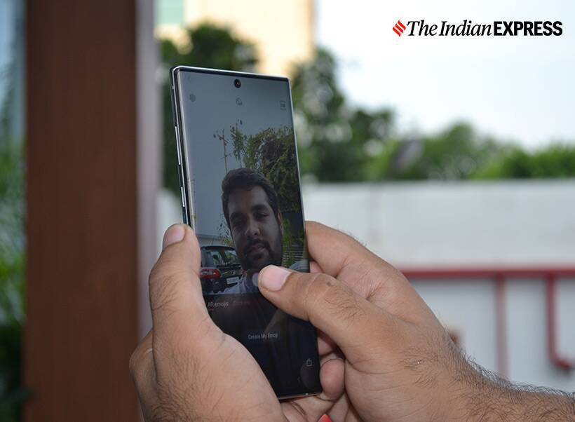 Samsung Galaxy Note 10+, Samsung Galaxy Note 10+ photos, Samsung Galaxy Note 10 photos, Samsung Galaxy Note 10, Samsung, Samsung Galaxy Note 10+ launched in India