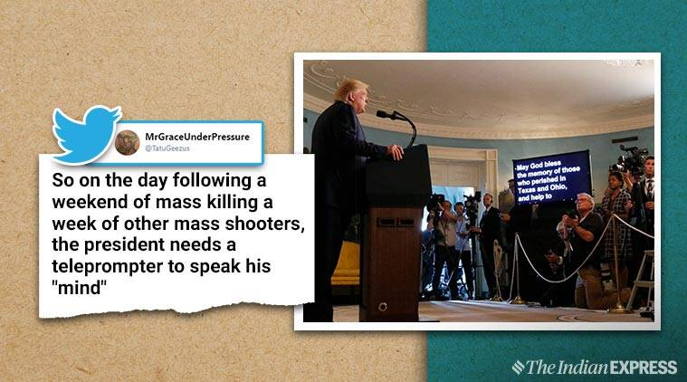 Donald Trump condemns mass shootings, gets name of place