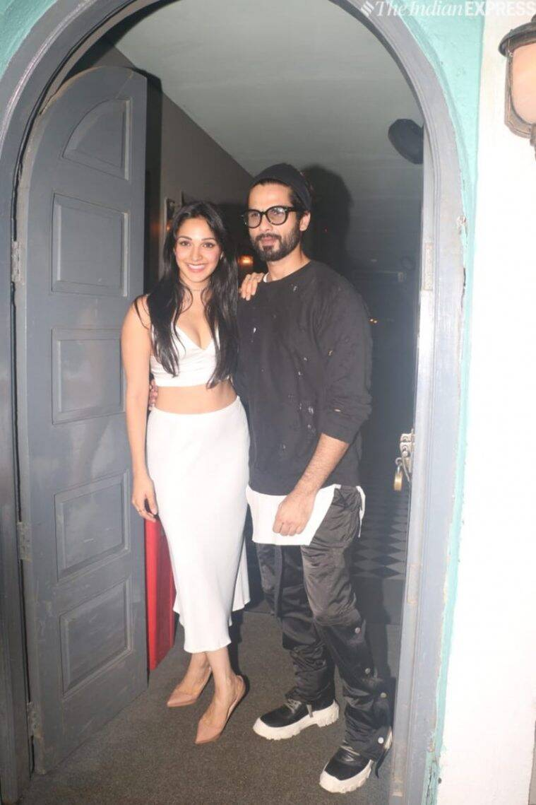 shahid kapoor at kiara advani birthday