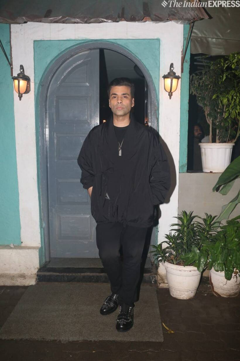 karan johar at kiara advani birthday