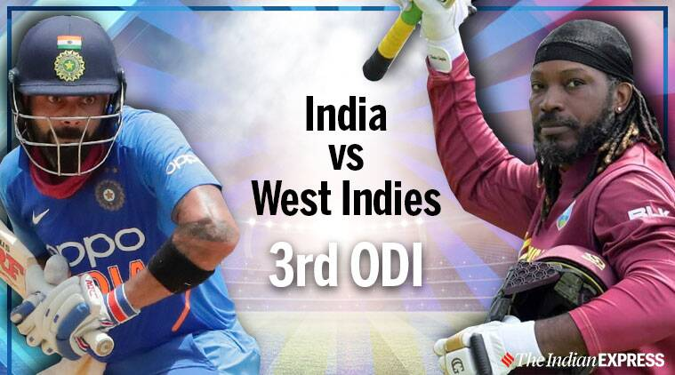India vs West Indies 3rd ODI Live Cricket Score Online: Windies win toss, opt to bat first