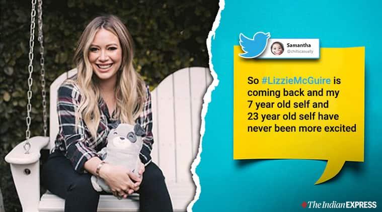 Lizzie McGuire, Hilary Duff, Lizzie McGuire reboot, Hilary Duff as Lizzie MaGuire, Lizzie McGuire revival, Lizzie McGuire series reboot, Disney, Trending, Indian Express news