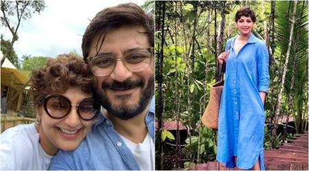 sonali bendre, sonali bendre vacation, sonali bendre thailand vacation, sonali bendre family vacation, sonali bendre photos, sonali bendre son, goldie behl, sonali bendre instagram