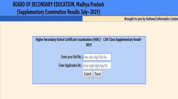 MP Board MPBSE 10th, 12th Supplementary Result 2019 declared at