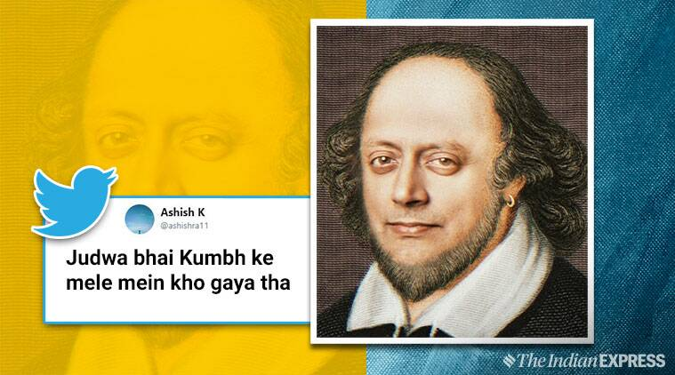 Shashi Tharoor shares morphed photo of him as Shakespeare and Netizens can't stop laughing