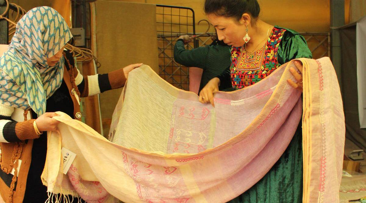 Unaccustomed Earth: How Afghan refugee women are working on building a new life