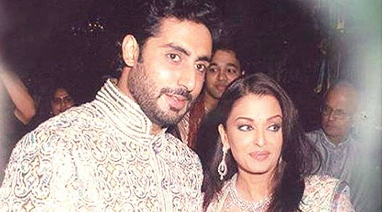 Abhishek Bachchan, Aishwarya Rai Bachchan, wedding, unseen pictures, Indian Express