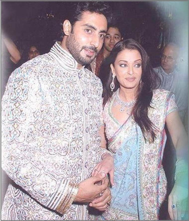 Abhishek Bachchan, Aishwarya Rai Bachchan wedding, Indian Express, Indian Express news