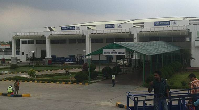 Ministry of Civil Aviation, Agartala airport, airports in the northeast, northeast airports, northeast news, Indian Express