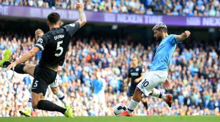 Sergio Aguero, Manchester City vs Brighton, Manchester United vs Southampton, Southampton vs Manchester United, Daniel James, Jannik Vestergaard, Premier League 2019, football news
