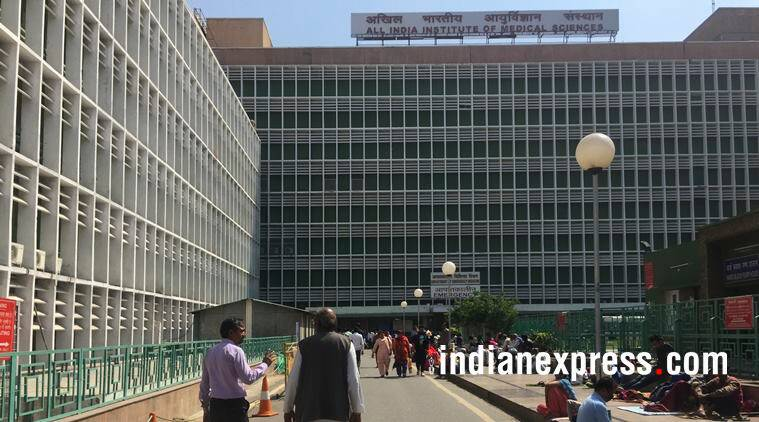 aiims fire, delhi aiims fire, fire at aiims hospital, delhi city news