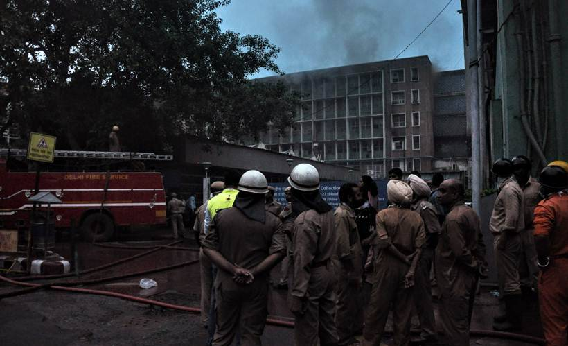 Fire breaks out at Delhi's AIIMS