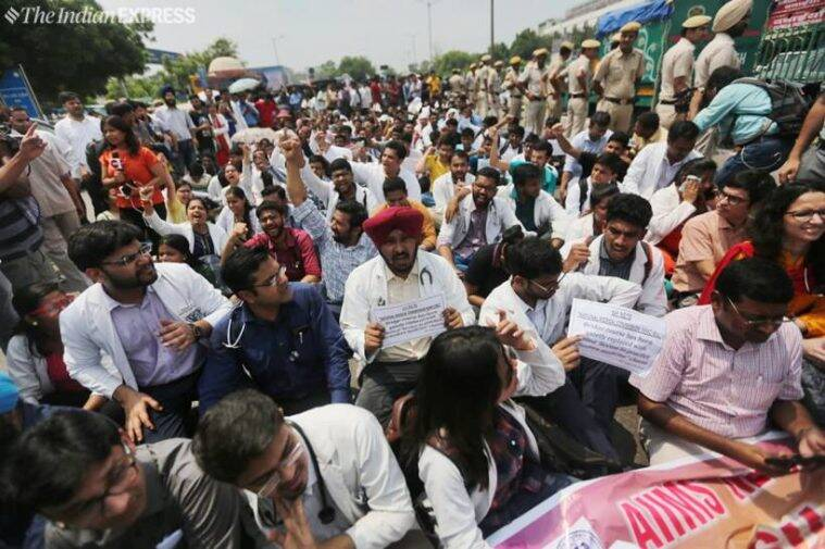 Resident doctors have threatened to continue the strike for an indefinite period if the National Medical Commission (NMC) Bill is tabled and passed in Rajya Sabha on Thursday.