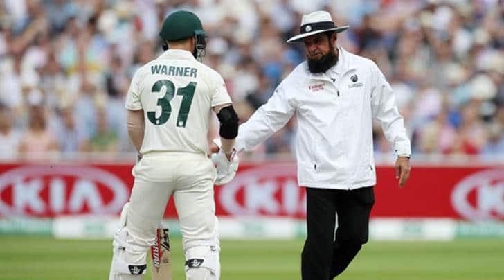 Umpiring blunder, Aleem Dar, Joel Wilson, Ashes 2019, England vs Australia Edgbaston Test