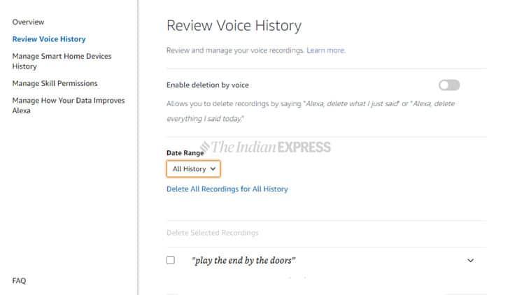 Amazon, Amazon Alexa, Alexa app delete voice, Alexa voice recordings, Alexa voice recordings delete, Alexa manual review, Alexa manual review delete, Alexa delete data