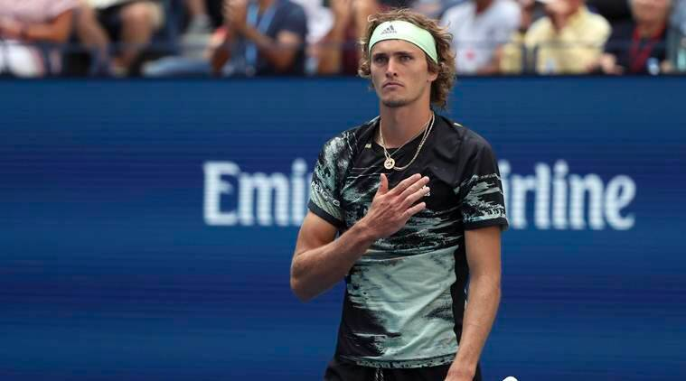 Zverev again pushed to 5 sets, but advances