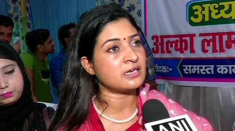 Delhi election voting: Scuffle between Cong candidate Alka Lamba, AAP workers