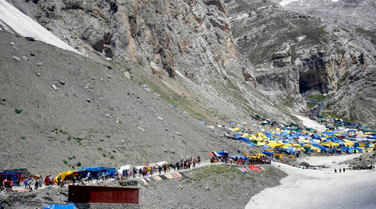 Amarnath Yatra suspended citing terror threats, govt asks tourists ...