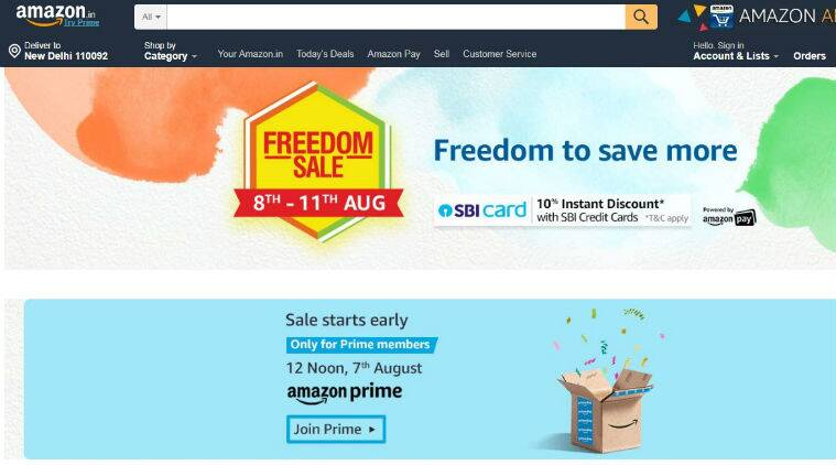 amazon freedom sale 2019, amazon freedom sale discounts, amazon freedom sale offers, oneplus 7 series, oneplus 7, oneplus 7 pro, Huawei Y9 Prime, Redmi 7, Redmi Y3, iPhone 6S, iPhone X, iPhone XR