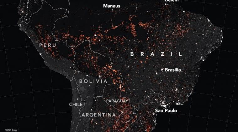 Amazon Forest Fire, Amazon forest burning, Amazon fire, Amazon Forest Fires, Amazon Fires NASA, Amazon NASA data