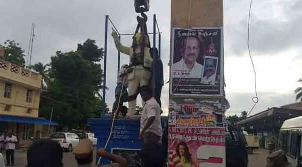 28 arrested after Ambedkar statue vandalised in Tamil Nadu's