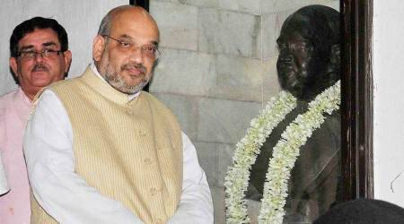 article 370, jammu and kashmir article 370 amit shah, union home minister amit shah, bjp modi amit shah kashmir, kashmir special status, jammu kashmir bifurcation, Indian Express
