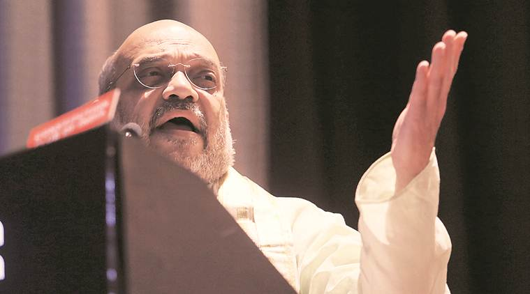 Politics of appeasement behind continuation of triple talaq, says Amit Shah