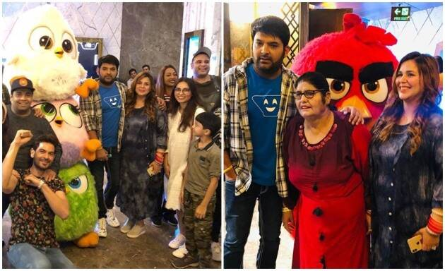 Angry Birds Movie 2 screening Kapil Sharma, Ginni Chatrath, Krushna Abhishek