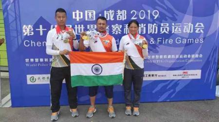 assam rifles, assam rifles archery team, World Police and Fire Games, World Police and Fire Games china, manipur news