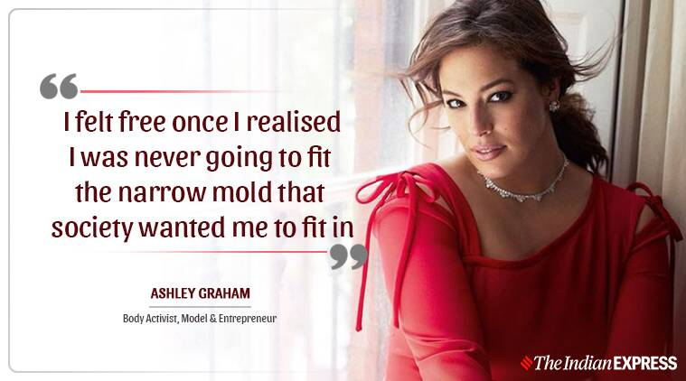 Life Positive, Ashley Graham, Indian Express news