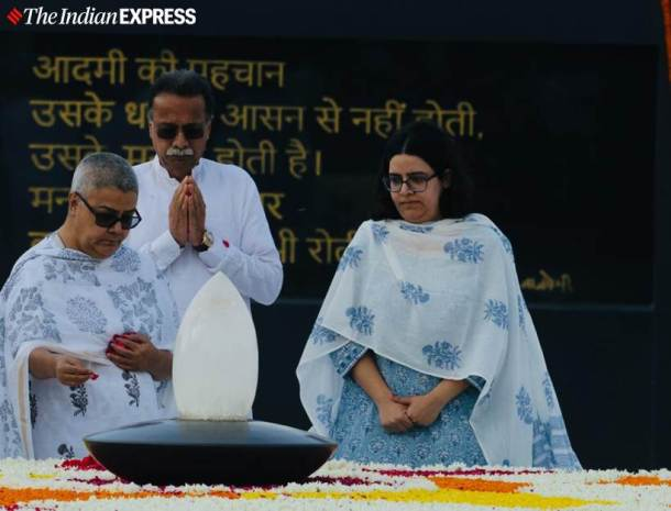 Atal Bihari Vajpayee, leaders pay tributes to Vajpayee, Atal Bihari vajpayee death annivarsary, atal Bihari Vajpayee photos