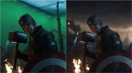 Avengers endgame making final battle